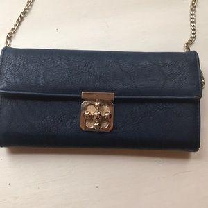 Navy handbag from Charming Charlie